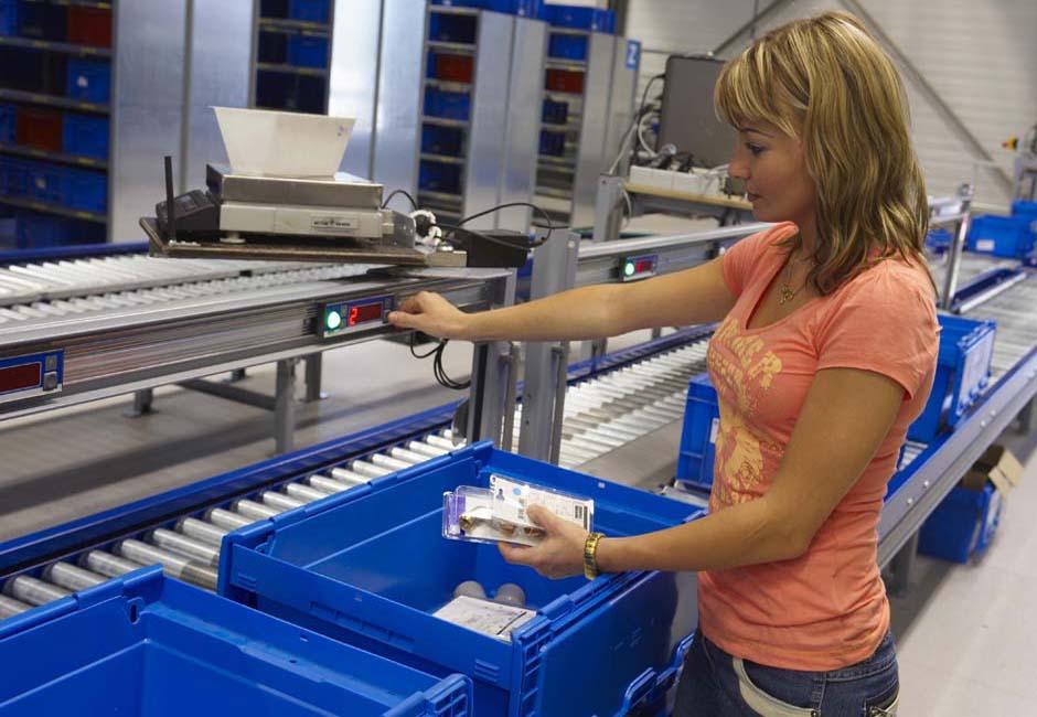 Order Picking Systems Amsort Przenośniki Systemy